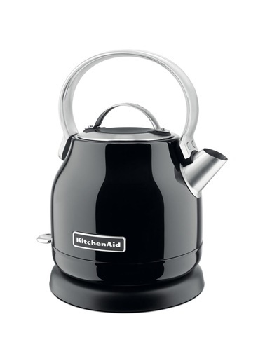 KitchenAid 5KEK1222EOB 1,25 Litre Metal Siyah Kettle Siyah